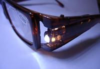 Wholesale sunglasses Unisex style LED reading glasses With money detector