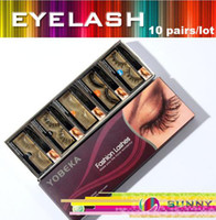 Wholesale Halloween Party Pair Mink Fur False Eyelash Mix Order Natural Curl Eyelashes