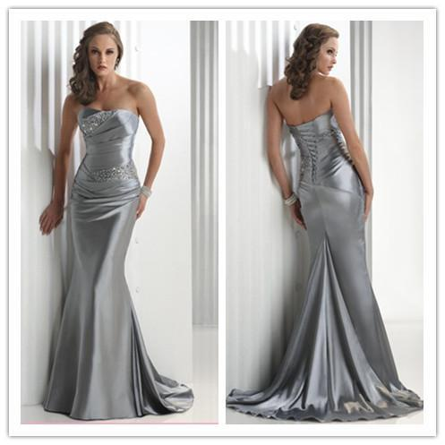 Sexy Silver Sequenced Prom Dresses - Prom Dresses Cheap