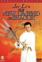 Wholesale The New Legend of Shaolin simple pack DVD5 Hong Kong China Region ALL Factory Sealed