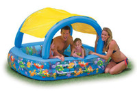 niños al por mayor piscina Piscina de agua sombrilla INTEX56471