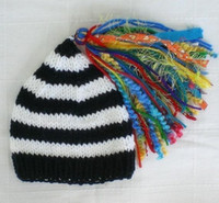 1pc Handknit baby caps crochet 0- 3Y children' s hats sti...