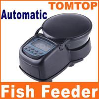 Wholesale Fish food Feeder Automatic Aquarium Tank Fish Food Feeder Digital Timer Automatic Feeder H4037