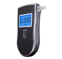 Wholesale Digital Breath Alcohol Tester AT LCD Display Portable Alcohol Tester