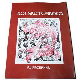 Wholesale wholesale New tattoo books KOI SKETCHBOOK FLASH MAGAZINE ART BOOK tattoo flash book
