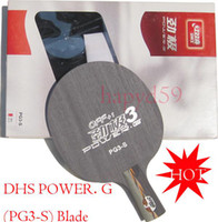 Wholesale Genuine table tennis blade DHS POWER G PG3 S penhold ply table tennis racquet T T racket pingpong