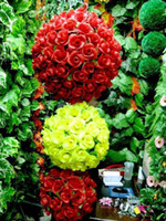Wholesale NEW Silk Simulation Artificial Flower Wedding Party Ball Flower Five colours cm cm cm cm