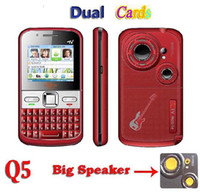 quadband tv phone - Q5 TV Cell Phone Bluetooth Dual Cards Loud Speaker Quadband Cheap Unlocked