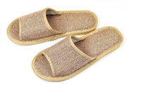 Wholesale Flax Sandal Slipper lovers Slippers summer Slipper pantofle pairs