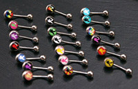 Wholesale Mixing designs playboy logo belly ring belly button ring navel ring belly bar
