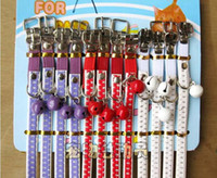 Wholesale 10pcs Cute bells dog collar cat Collar mini dog collar Pet Products