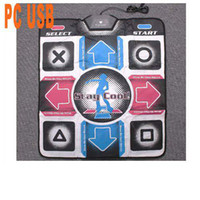 Wholesale Non Slip Dancing Step Dance Mat PC USB Mats Pads by hong kong post