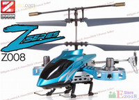 Wholesale Avatar Z008 CH Mini Rc Helicopter ZR Z Series RTF Micro Infrared Radio Remote Control Toy Gyroscope
