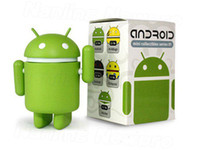 android toy robot - 100pcs Google Android Robot Toy Android Toy Android iphone Toy Fashion Toy google android doll toy