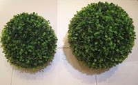 PE artificial boxwood ball - Best selling wide use Artificial plastic boxwood ball cm