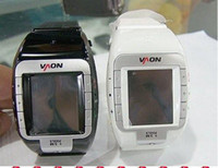 Wholesale UNLOCKED TRI BAND N800 W100 WRIST GSM WATCH PHONE K1000404 inch bluetooth cell phone
