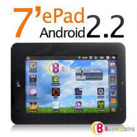 c7 via - Hot Promotions On Sale quot Epad Flash VIA8650 high quality touch screen android tablet PC