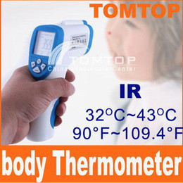 Wholesale Digital Infrared IR Baby Forehead Surface Thermometer C Cinical Termometer LCD H1778