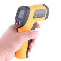 Termometro a infrarossi IR Nuovo senza contatto Digital LCD Temperatura Con pistola laser -50-550'C H4325