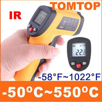 Wholesale Brand New Non Contact LCD Digital IR Infrared Thermometer Temperature With Laser Gun C H4325
