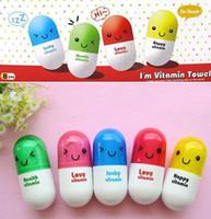 100% Cotton adult vitamins - Expression pills towel Vitamin towel Outdoor travel towel cotton color g