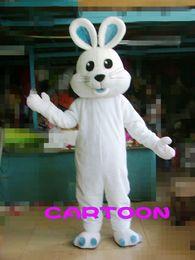 Rabbits,White Rabbit Mascot Costume Fancy Dress! cheap mascot ! Free S H