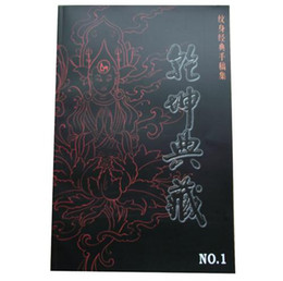 Wholesale new tattoo flash book heaven and earth Buddhism design