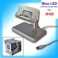 Wholesale silver Holder Dock Stand Charger for Apple iPad with USB Cable Brand new