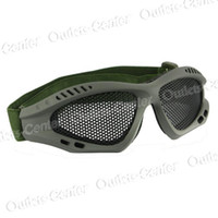 Wholesale Shock Resistant Outdoor Glasses Goggles Eye Protective Net Lens Flexible Band camping hiking good