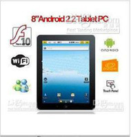 Wholesale 2pcs D Games inch Android Apad Freescale A8 WiFi Tablet pc support Real Flash