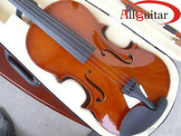 Wholesale Flame top Handmade common Violin HOT