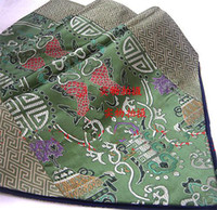 Wholesale Decorate Table Runner Green Silk Flower Pisces pattern Free
