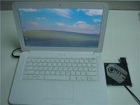 Wholesale 2PCS HOT SALE Dual core inch DVD laptop GB GB N455 GHz