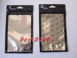 10*18CM Zipper Plastic Retail bag Packaging Package packing for Iphone 3G 3GS 4G 4 4s 5 5G 5C 5S SE cellphone case cases 2500pcs