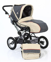 Wholesale Baby strollers Luxury Aluminum Wheels Stroller OYSTER GREY Revolution two way sports car