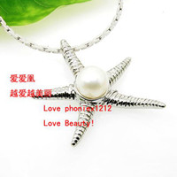 Wholesale DZ1213 Freshwater Pearl Pendants Pearl Pendant Fashion Jewellry Pearl Golden Plated Jewelry Gifts