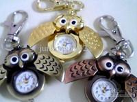 Wholesale Owl Combination Cheap mix Cartoon a pack pocket watch quartz