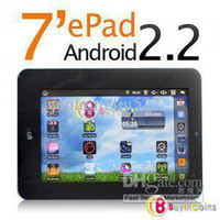 Wholesale Hot Promotions On Sale quot Epad Flash VIA8650 high quality touch screen android table