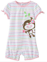for Summer Shortall 18 Months Jumping beans baby rompers jumpsuits girls jumpers boys' tracksuits tee shirts onesies tshirts LM191