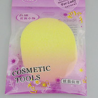 washing powder - Facial Wash Cleaning PVA Puff Cosmetic Powder Puff Makeup Compress Puff Sponge For Face mmThicknes