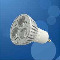 Wholesale LED Spotlight LIGHT High power W GU10 BASE LED TYPE Bridgelux
