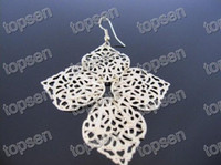 Wholesale Jewelry Fashion fashion alloy vintage four maple leaf leaves earrings Jewelry sets
