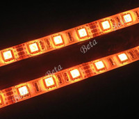 Wholesale Hot Sale Orange LED Flexible Strip Car Light Strips Waterproof SMD DC V M LED M LEDS