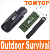 Wholesale Field Survivorship Outdoor Latch Bolt Magnesium Flint Stones Fire Starter Lighter H1973