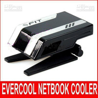 Cheap EVERCOOL NB-FT1 Cooler USB radiator for Computer Notebook Laptop Cooling fan 10pcs
