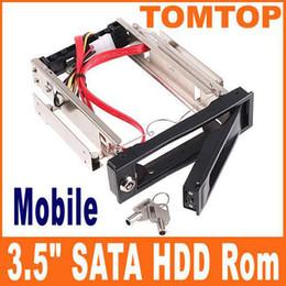 """3.5"""" SATA 3.0 Gb/s disque dur-Rom Disque Dur Aulminum Rack Mobile C1089 4pcs"""