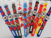 Wholesale watches Cheap Spider Man D cartoon children wrist watch Batteries gifts watch