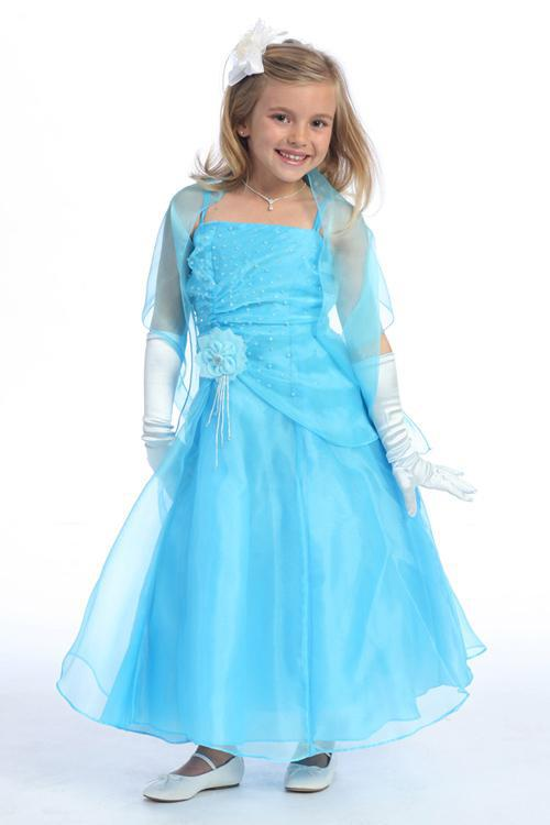 light blue lovely beaded flowergirl dresses beautiful