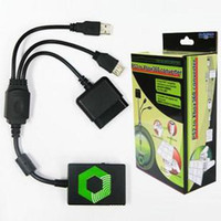 For PS2 Xbox360  game accessory for xbox Xbox360 TO PS2 controller Convetor 6090025R5 1 pcs pro-m
