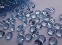 Wholesale Blue Diamond Confetti CARAT mm Wedding Favor Party Decor HOT SELLING